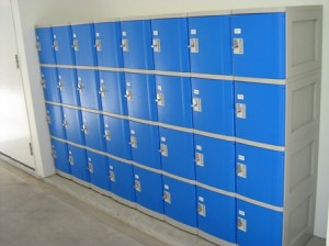 Locker خزانة - مركز لياقة بدنية