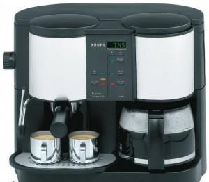 ماكينة قهوة و كابتشينو