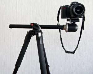 كاميرا بالاضافة الى حامل