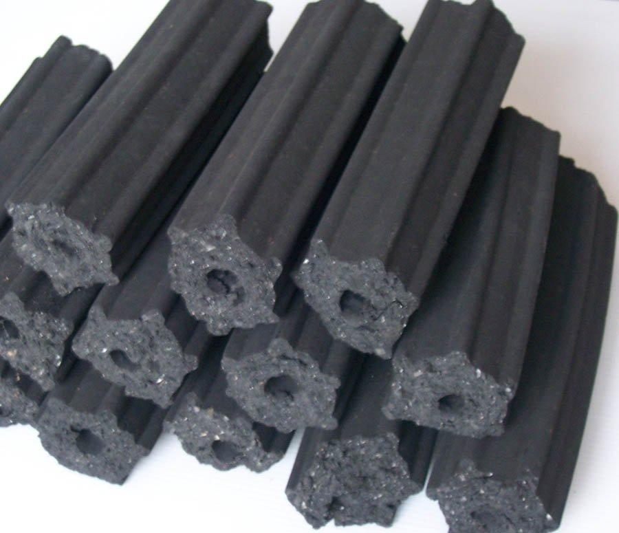 إنتاج الفحم المضغوط
