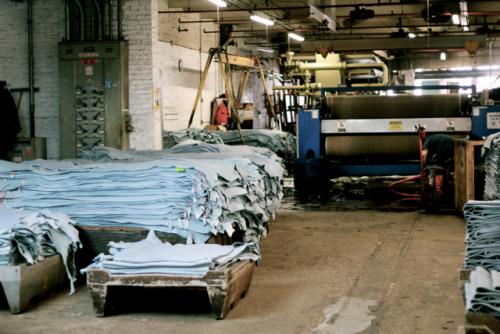 مراحل صناعة الجلود - مشروع صناعة الجلود