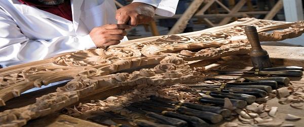 الحفر على الخشب - مشروع الحفر على الخشب
