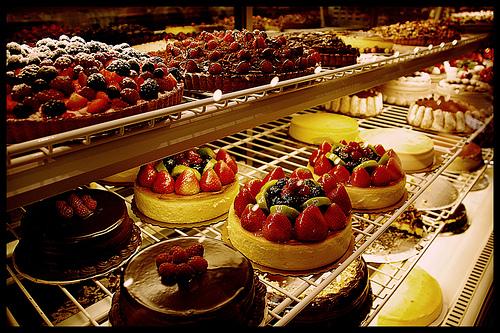 محل حلويات